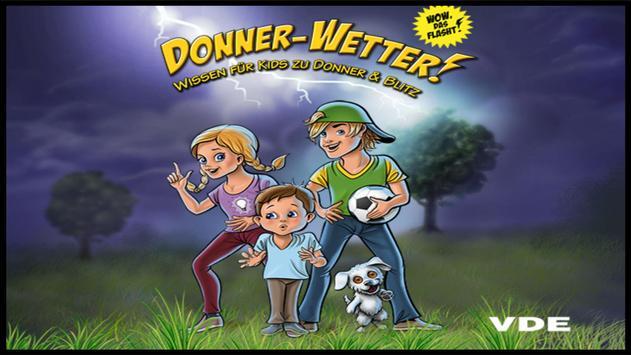 Donner-Wetter! Comic poster