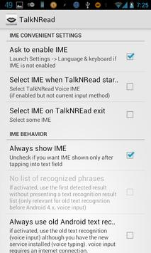 TalkNRead apk screenshot