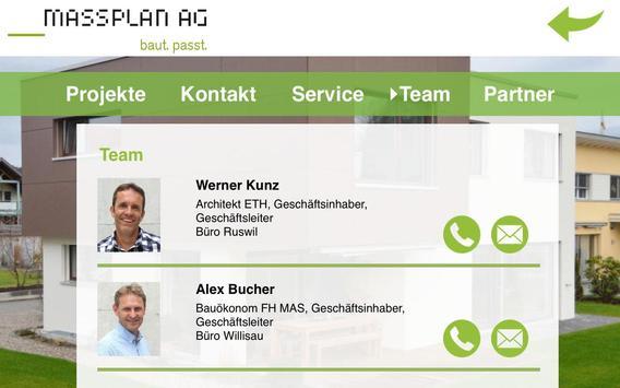 Massplan AG apk screenshot