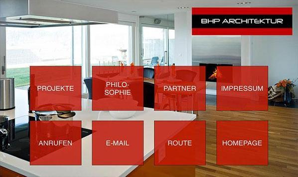 BHP ARCHITEKTUR poster