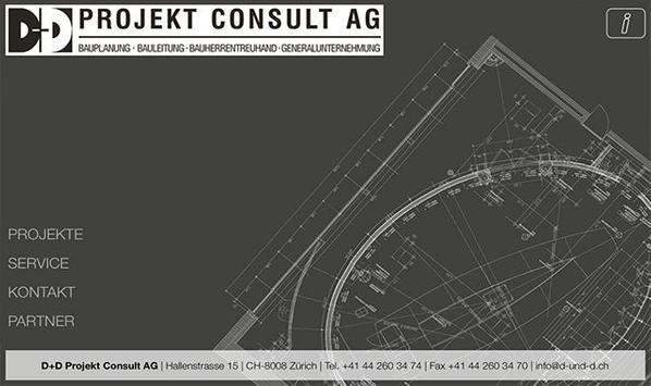 D+D Projekt Consult AG poster