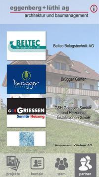 eggenberg + lüthi ag poster