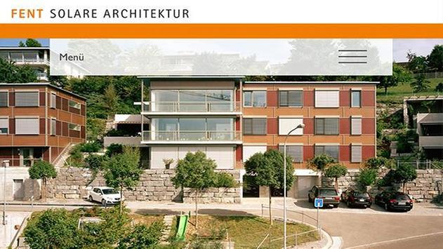 Fent Solare Architektur poster