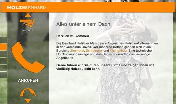 HOLZBERNHARD poster