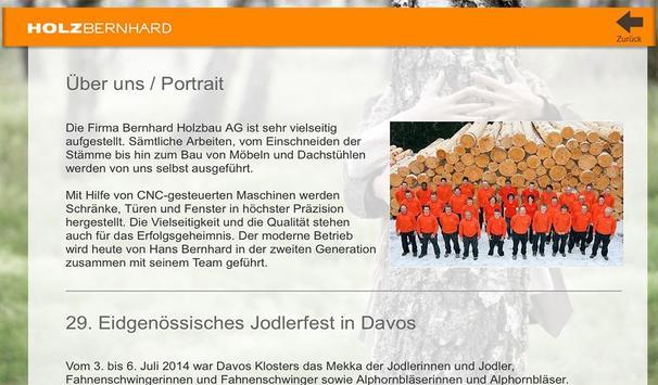 HOLZBERNHARD apk screenshot