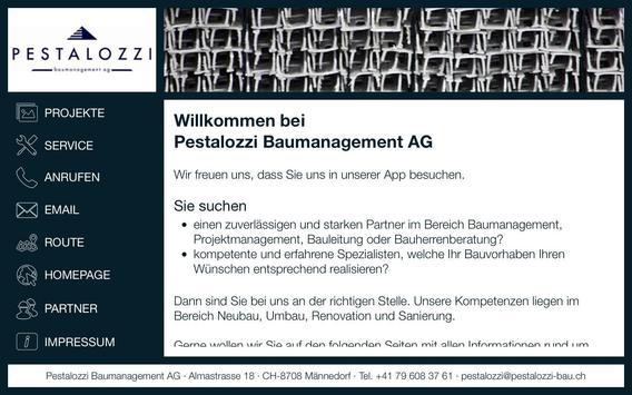 Pestalozzi Baummanagement AG apk screenshot