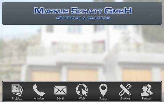Markus Schatt GmbH poster