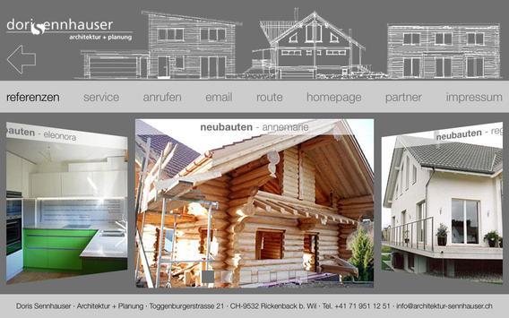 Doris Sennhauser Architektur apk screenshot