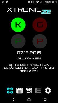 XTRONIC Zeiterfassung poster