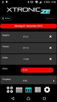 XTRONIC Zeiterfassung apk screenshot
