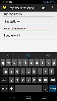 YellowTimeManager V1 apk screenshot