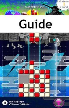 Guide for Lumines Puzzle poster