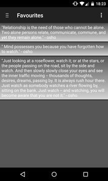Osho Words apk screenshot