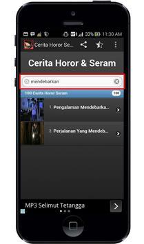 Cerita Horor dan Seram apk screenshot