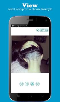 Female Undercut Designs apk screenshot