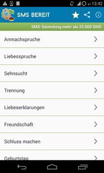 Sammlung SMS Grüße,Sprüche poster