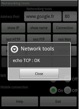 Network tool apk screenshot