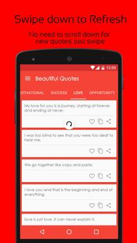 Beautiful Quotes apk screenshot