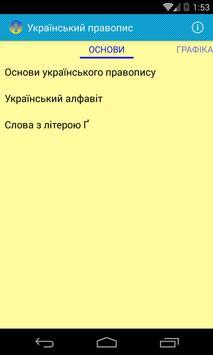 Український правопис poster