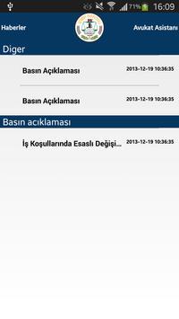 İzmir Barosu apk screenshot