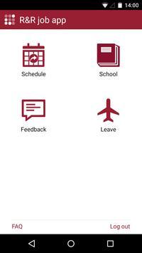 R&R job app poster