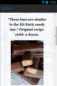 Delicious Candy Recipes apk screenshot