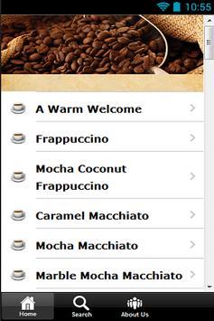 Delicious Coffee Recipes poster