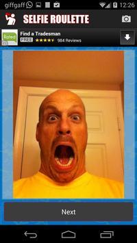 Selfie Roulette apk screenshot