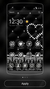 Black Lace Leopard Theme poster