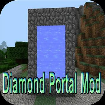 Diamond Portal Mod for MCPE apk screenshot
