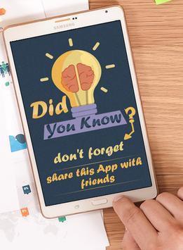 Did you know ? apk screenshot