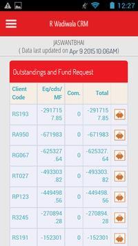 R. Wadiwala CRM apk screenshot