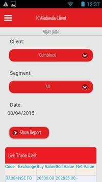 R. Wadiwala Client apk screenshot