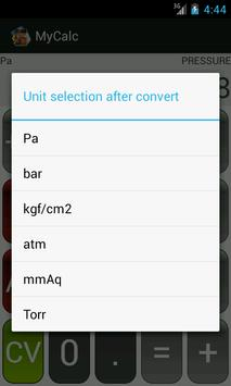 MyCalc for all engineer apk screenshot