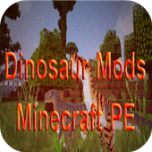 Dinosaur Mods for Minecraft PE icon