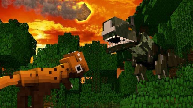 Dino Craft Minecraft poster