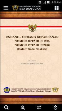 Undang-Undang Kepabeanan poster