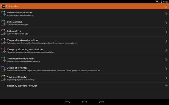 KS - KvalitetsSikring apk screenshot
