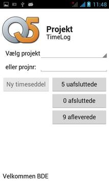 Q5 Timelog apk screenshot