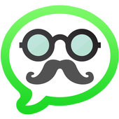 Mustache Anonymous Texting SMS icon