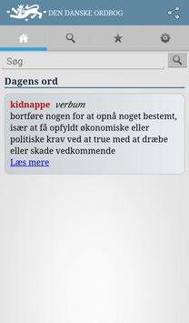 Den Danske Ordbog poster