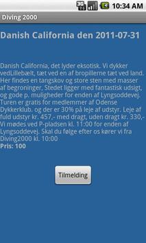 Diving 2000 apk screenshot