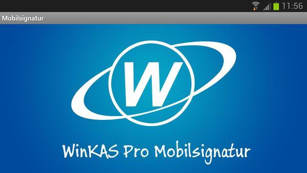 WinKAS Pro Mobilsignatur poster