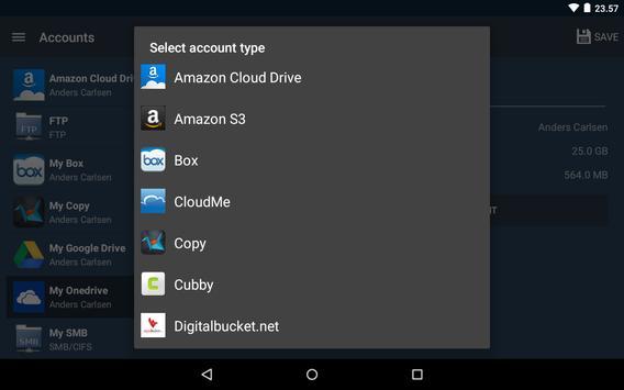 FolderSync Lite apk screenshot
