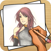 Learn to draw Anime icon