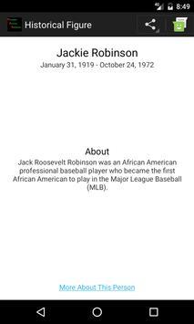 Prominent African Americans apk screenshot