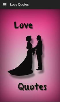 Love Quotes and Sayings poster