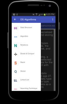 Data Structure Algorithms apk screenshot
