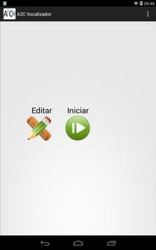A2C Vocalizador apk screenshot