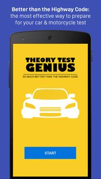 Driving Theory Test Genius UK poster